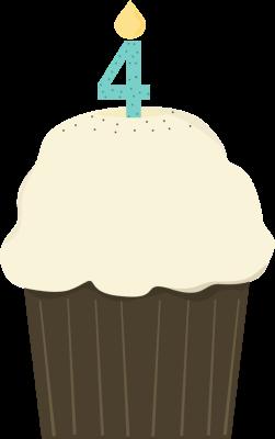 clip stock 4th of clipart birthday. Fourth cupcake panda free