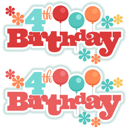 jpg transparent library  th titles svg. 4th of clipart birthday