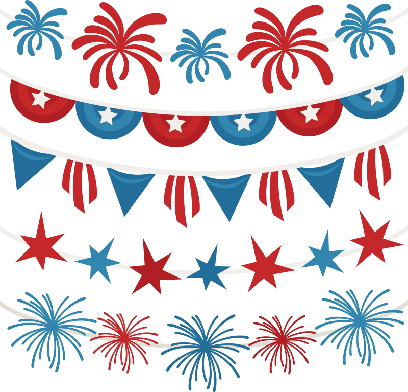 clip art transparent  th of july. Svg bow merica