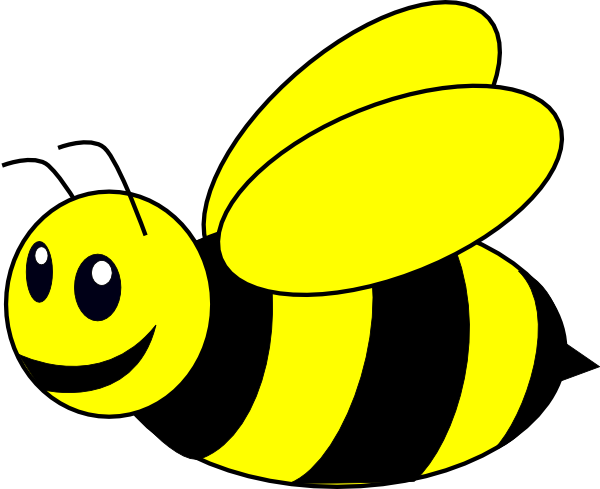 svg royalty free stock Clip art at clker. Bumble clipart yellow bee