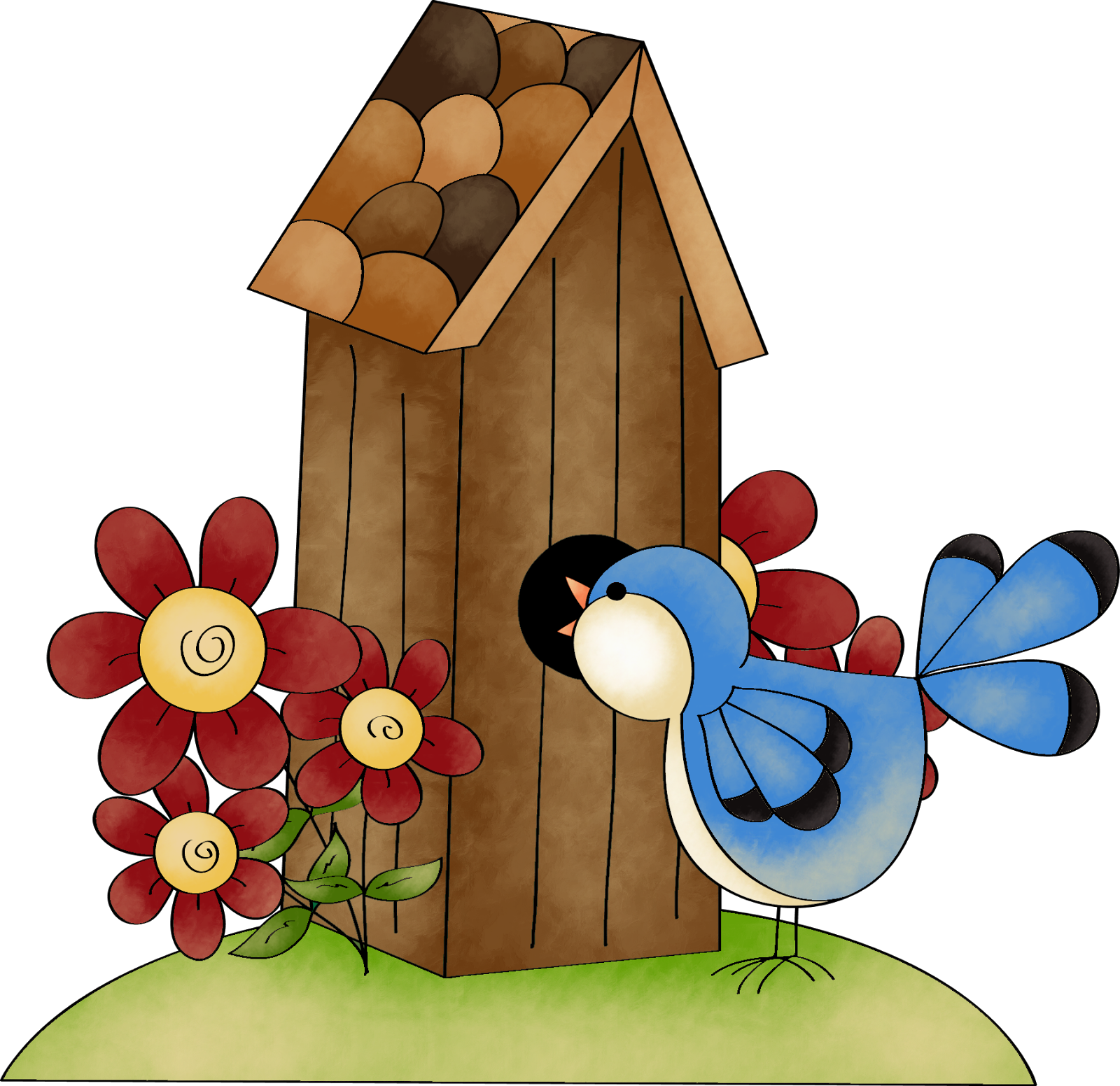 png free download 5 clipart birdhouse. Pin by el buho