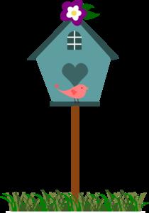 banner freeuse library With bird clip art. 5 clipart birdhouse