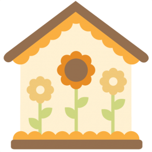 clipart transparent download 5 clipart birdhouse. Svg cutting files for