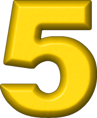 svg library download  collection of number. 5 clipart yellow