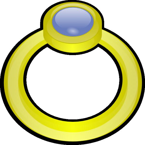clip transparent download Golden Ring With Gem Clip Art at Clker