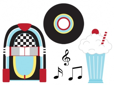 png freeuse 50s clipart. Free s theme cliparts