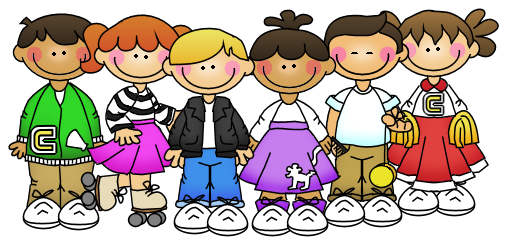 transparent library Kinderworld th day of. 50s clipart 50 kid.