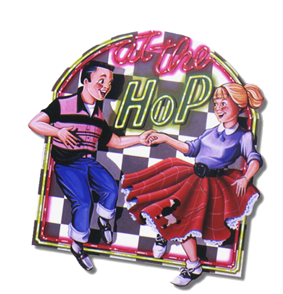 clip black and white library 50s clipart 50 kid.  s sock hop.