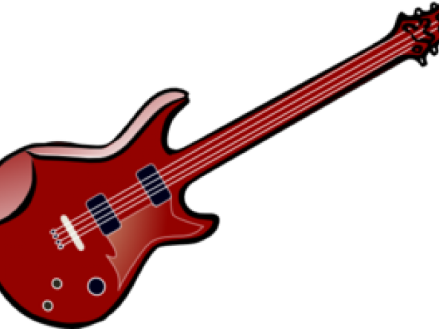 jpg free stock Octavina free on dumielauxepices. 50s clipart colorful guitar