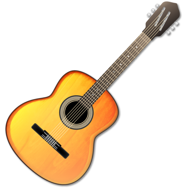 clip royalty free stock 80 clipart pink guitar. Acoustic picsart free on