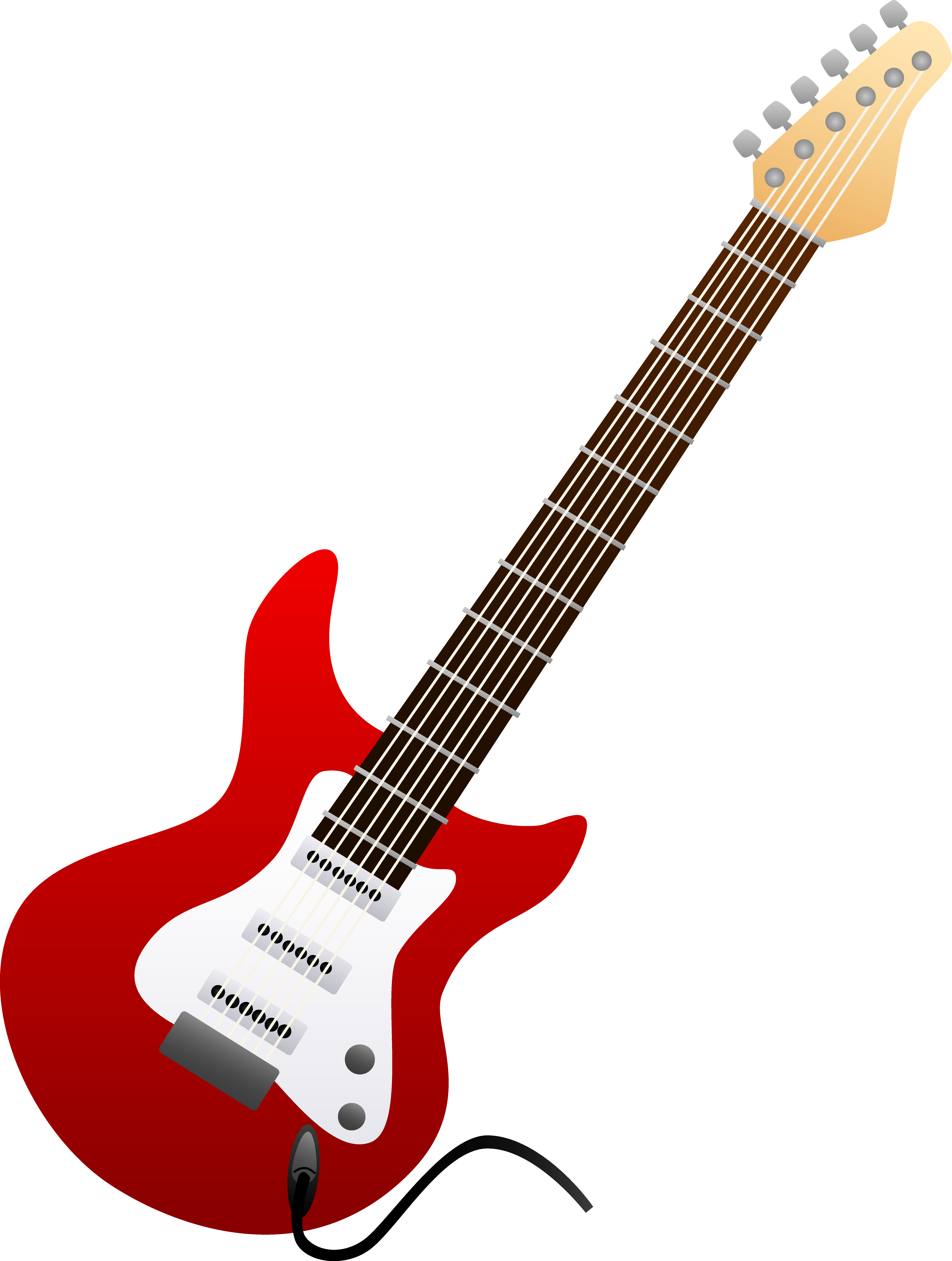 picture transparent Rock and roll collection. 50s clipart guitar
