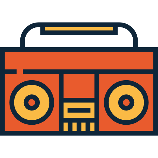 graphic free 50s clipart radio. Retro rollerskates s roller