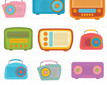 svg library library  s transparent free. 50s clipart radio