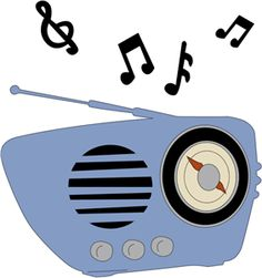 picture download  best images clip. 50s clipart radio