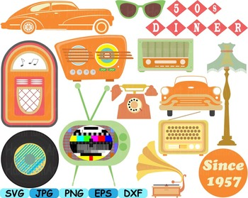 svg library library 50s clipart radio.  s transparent free