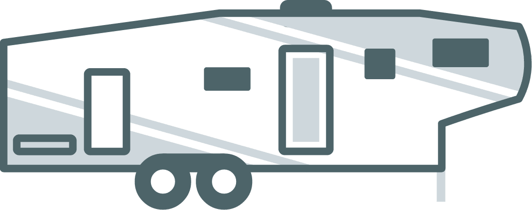 picture stock 5th wheel camper clipart. Rvs campers for sale.