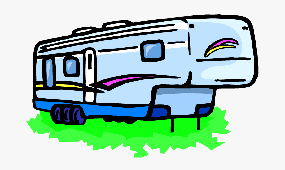 png freeuse Rv clip art transparent. 5th wheel camper clipart
