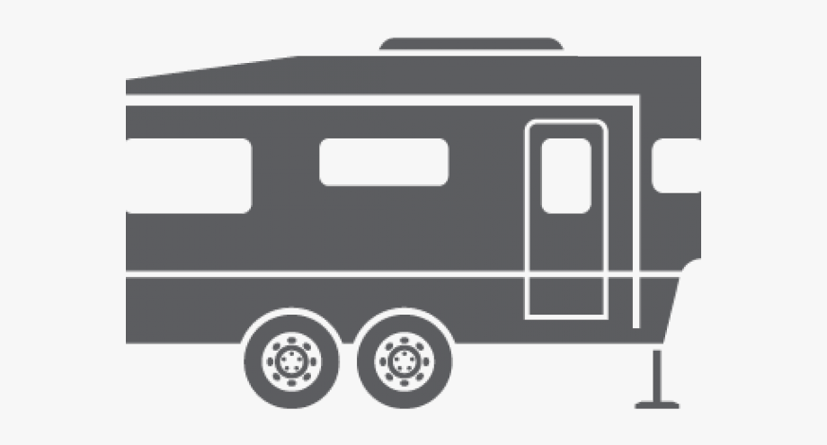 transparent download Th . 5th wheel camper clipart.
