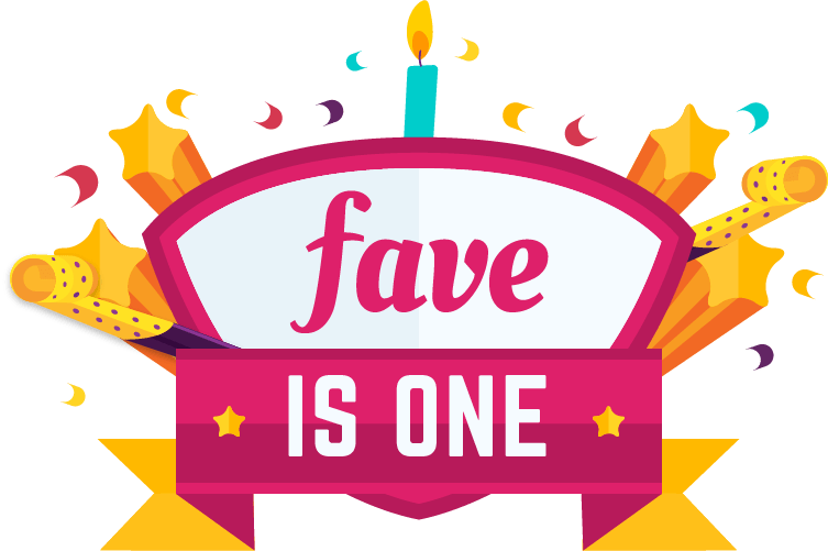 vector black and white library Fave is one weeks. 6 clipart birthday bash.