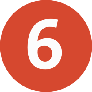 freeuse 6 clipart circle. Number transparent free