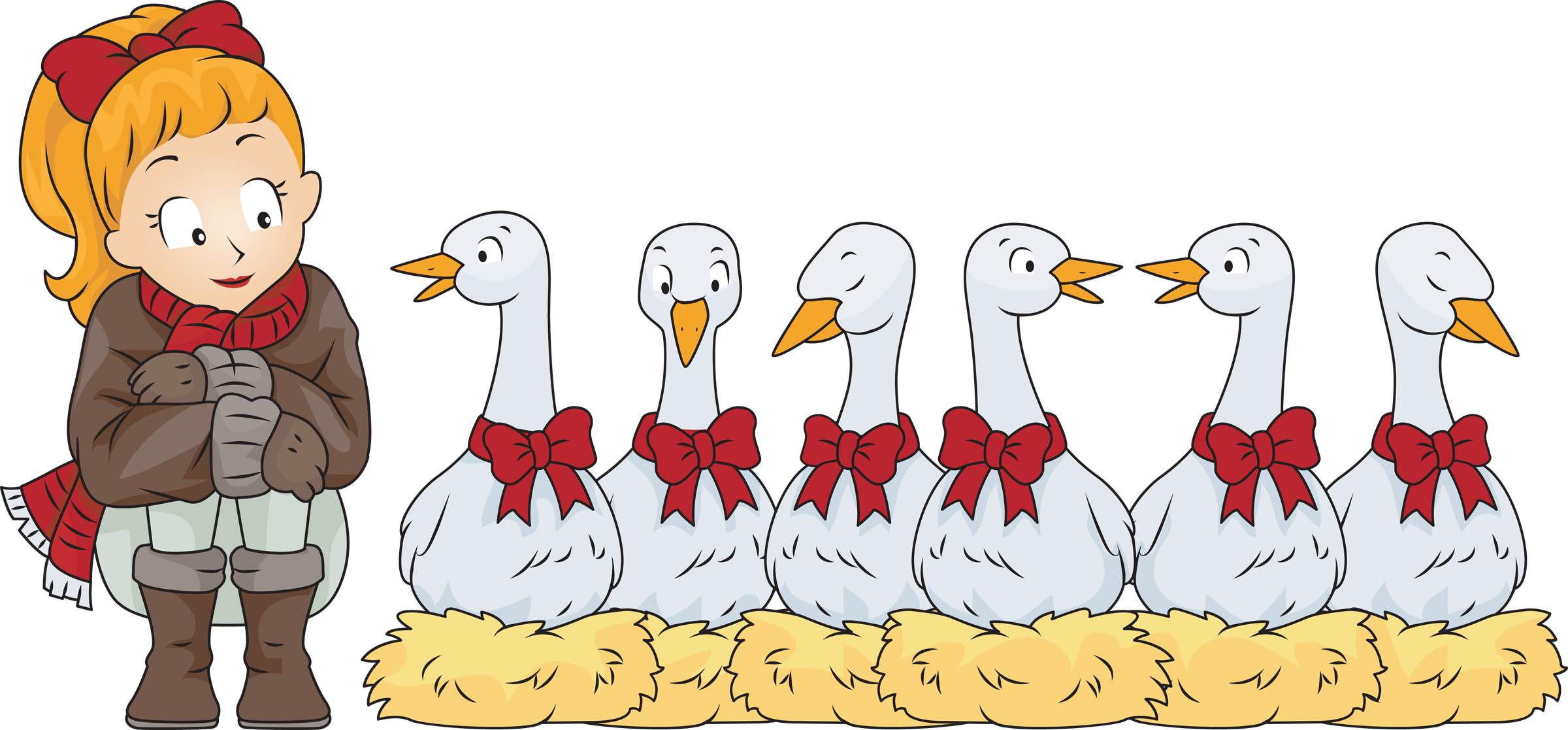 svg royalty free 6 clipart geese a laying. Christmas er wallpaper x