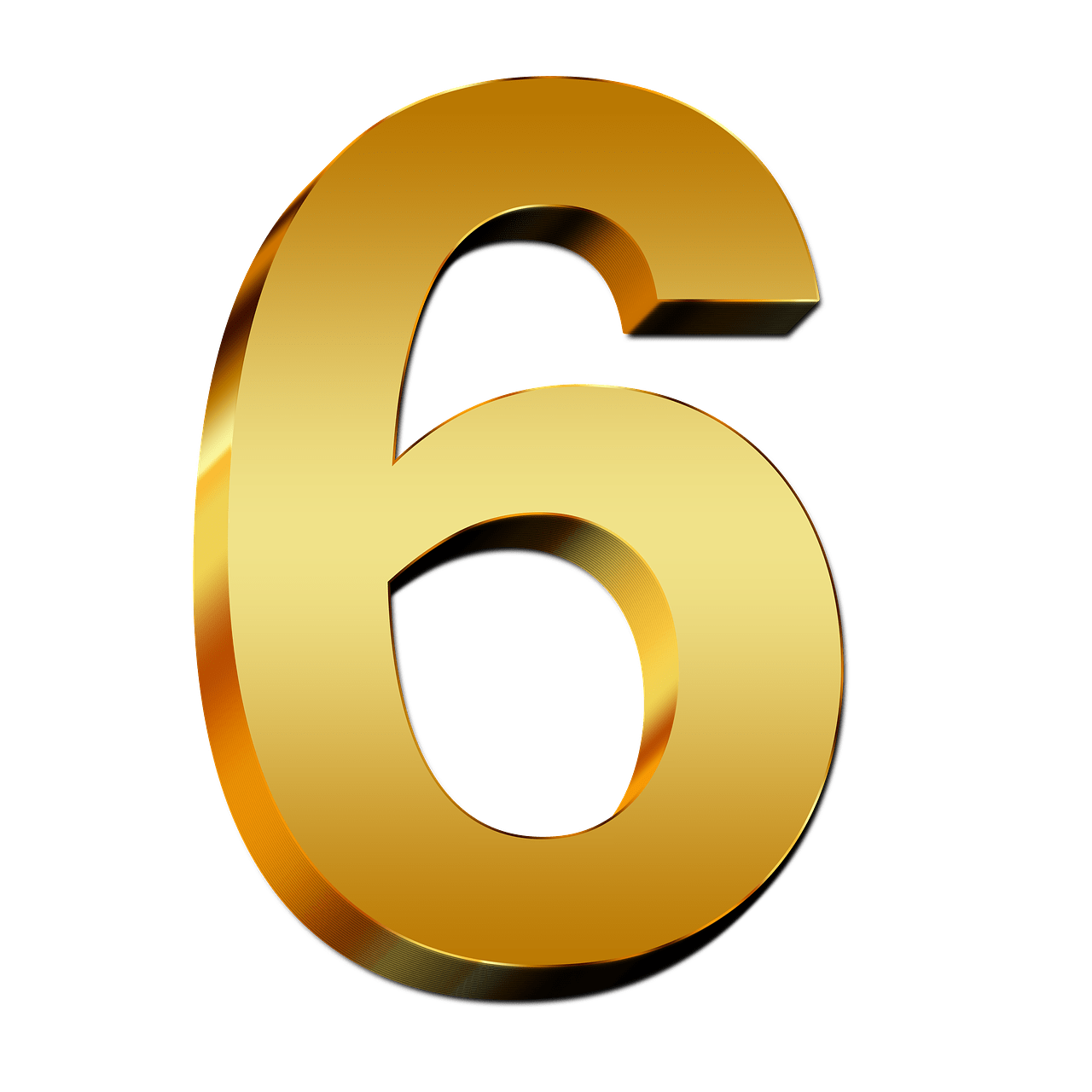 png royalty free library Gold Number