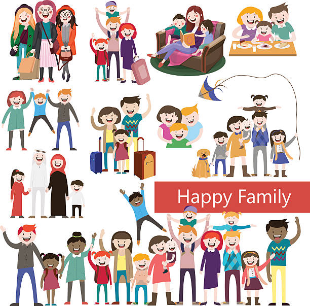 clip art library download 6 clipart happy family. Families station