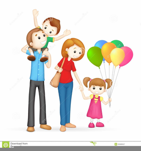 svg freeuse Free images at clker. 6 clipart happy family