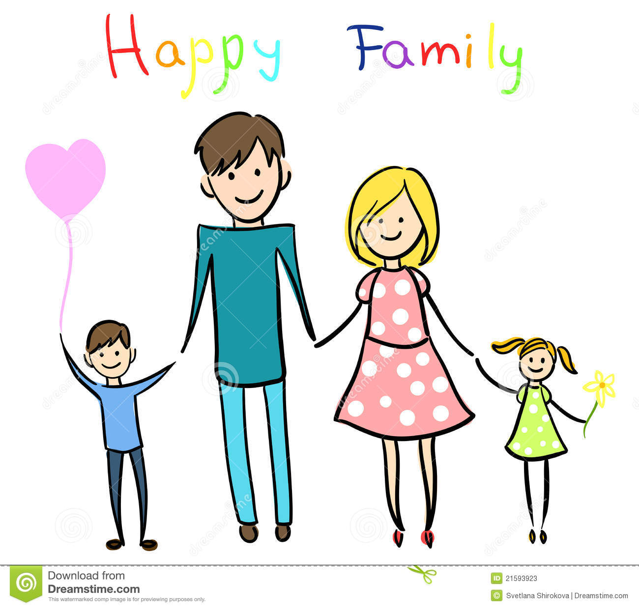 jpg freeuse 6 clipart happy family. Station