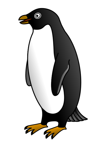 png freeuse penguin clipart black and white penguin clip art black and white