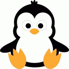 vector royalty free 6 clipart penguin.  penguins clipartlook