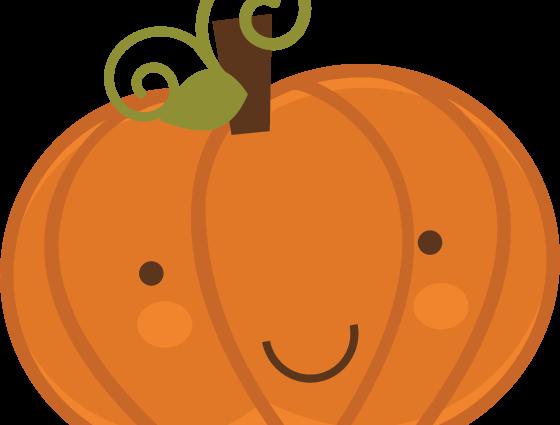 graphic freeuse download Cute clip art free. 6 clipart pumpkin