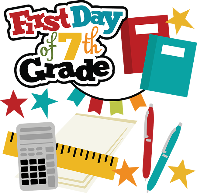clipart 7 clipart 7th. First day of th