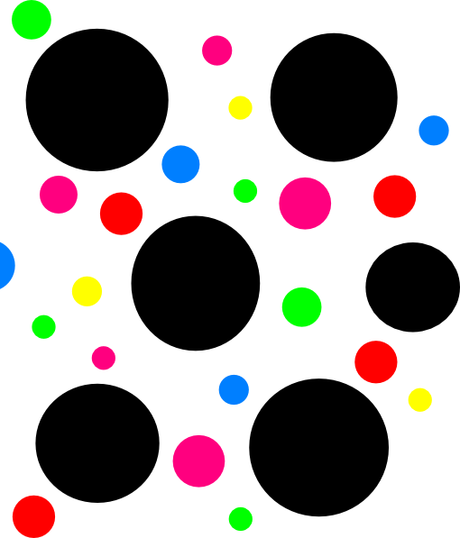 png library stock 7 clipart dot. Light blue polka dots