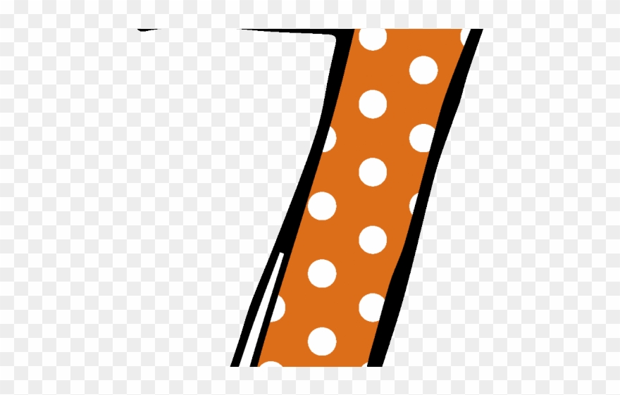 freeuse library  number polka png. 7 clipart dot