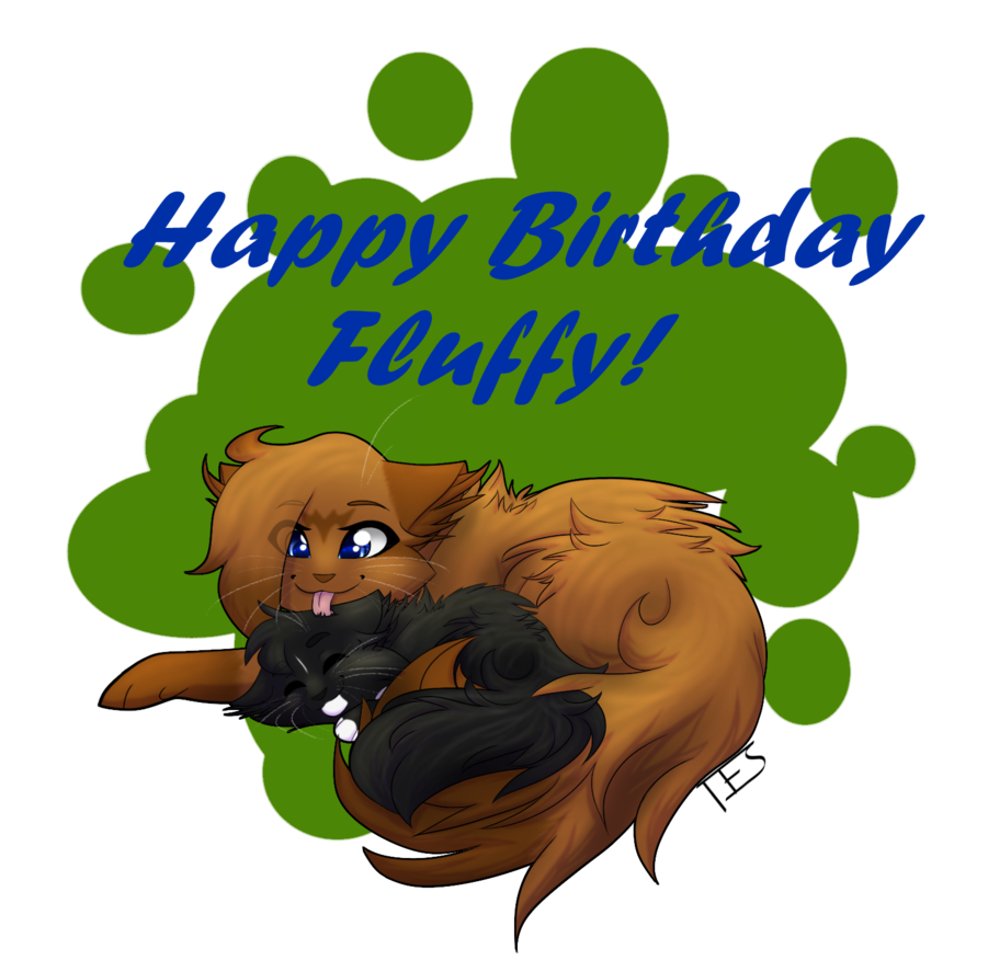 clip stock Th fluffy by sparrowdraws. 7 clipart happy 7th birthday
