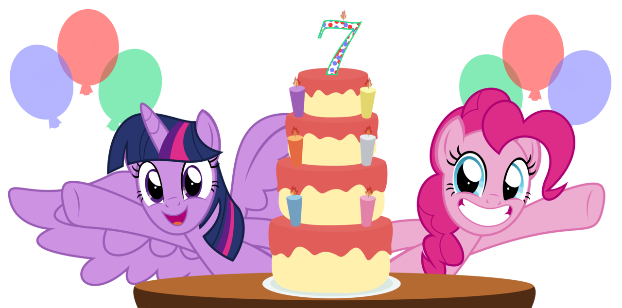 transparent library  absurd res alicorn. 7 clipart happy 7th birthday