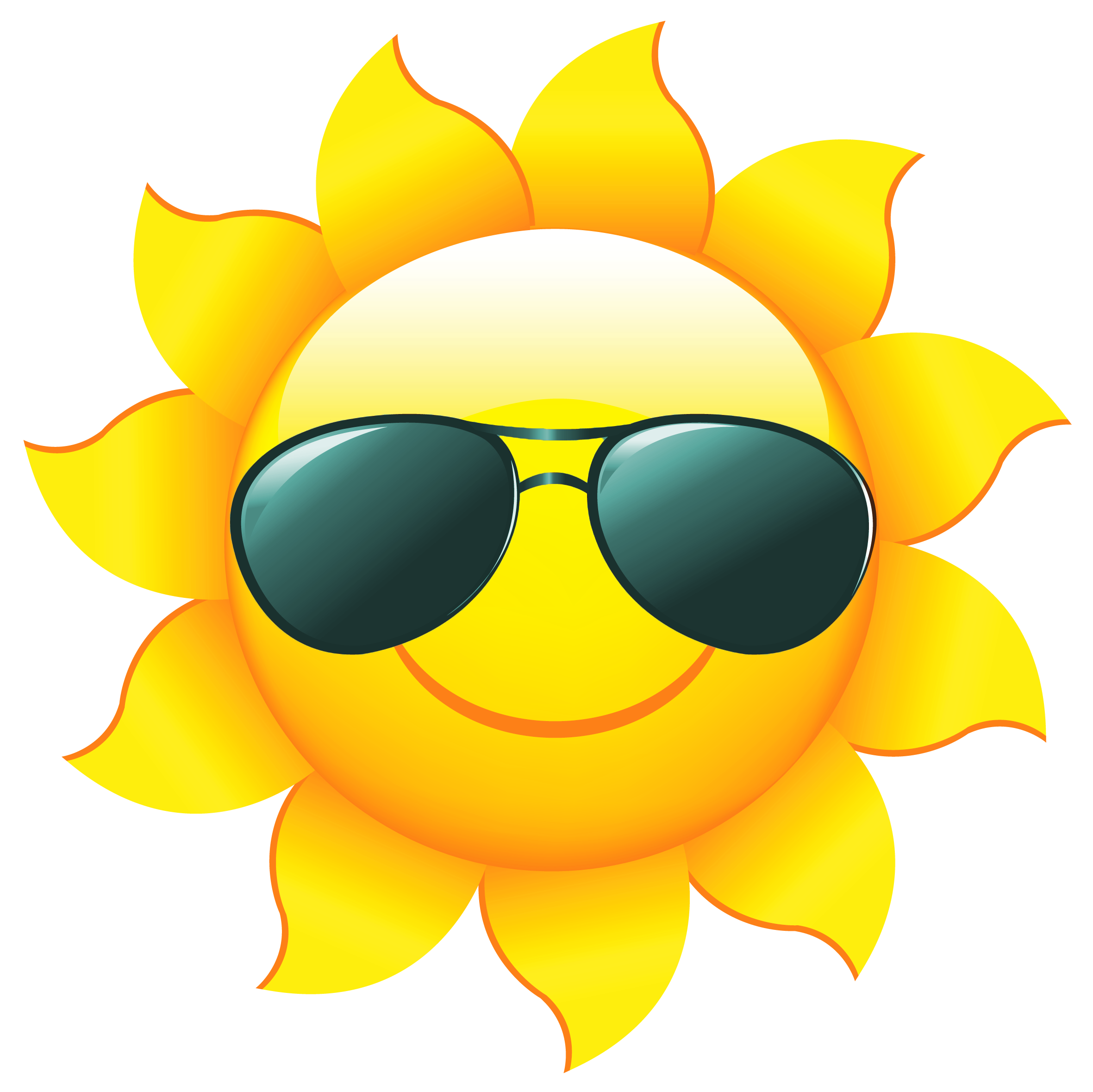 graphic  collection of png. 7 clipart sun shades