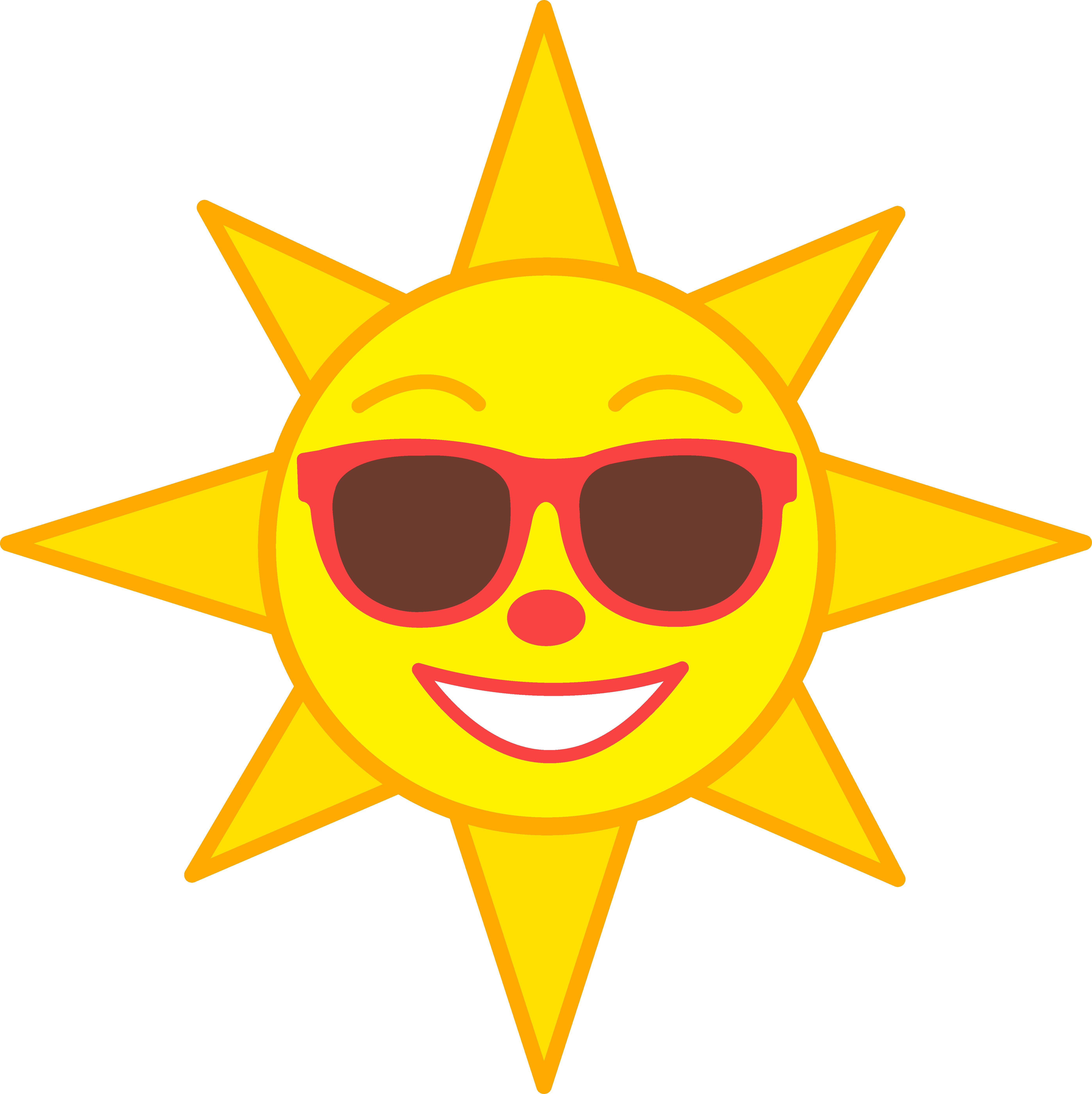 clip art stock 7 clipart sun shades. It s holiday time.