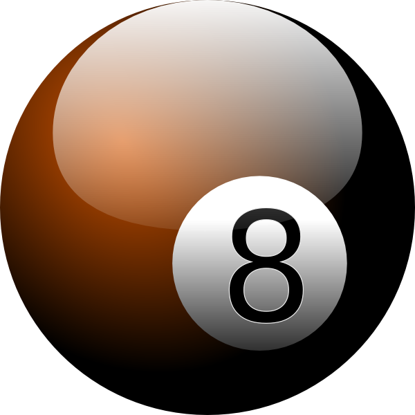 graphic download 8 ball clipart. Eight clip art at