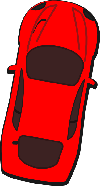 svg transparent stock 80 clipart 80 car. Red top view clip