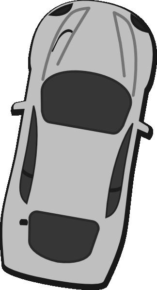 clip art black and white Gray Car