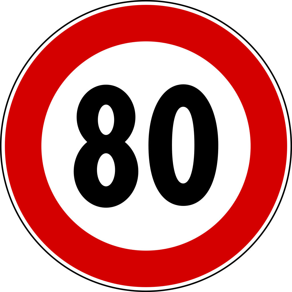 png library File italian traffic signs. 80 clipart 80 phone