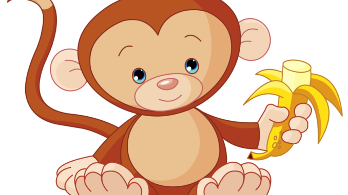 clip art library download  free monkey black. 80 clipart
