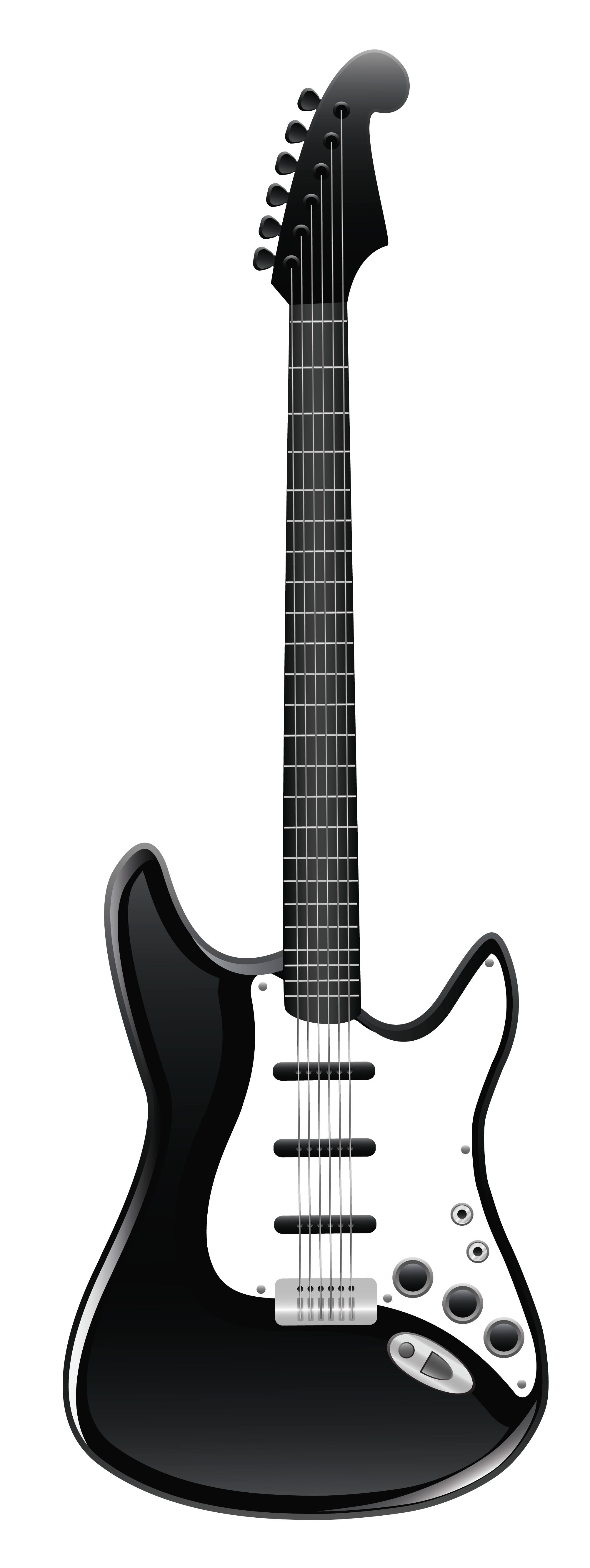 jpg black and white library Guitar clipart fiesta. Black and white music