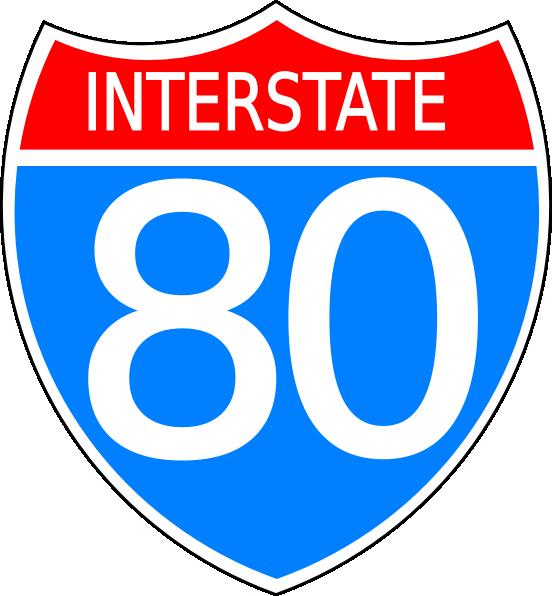 svg download 80 clipart sign.  interstate free image