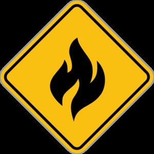 vector transparent Fire alert clip art. 80 clipart sign