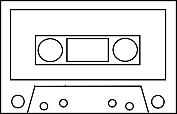 vector freeuse stock 80 clipart video cassette.  s tape clip