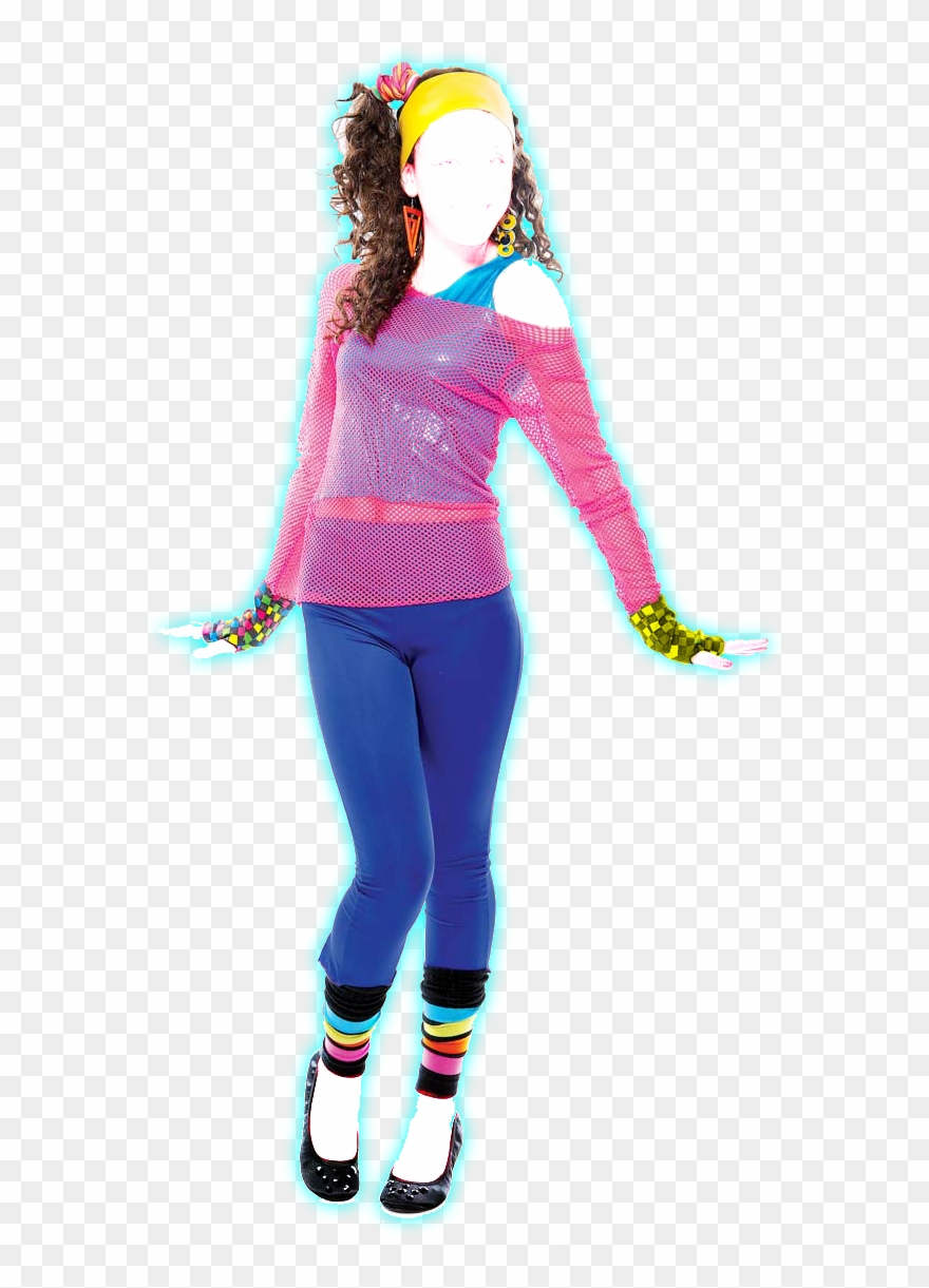 clip art free stock  s png halloween. 80's clipart 80 girl