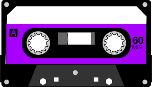 picture royalty free 80's clipart casette tape.  cassette clip art